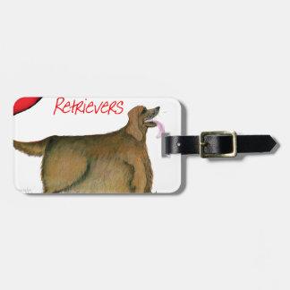 nosotros perros perdigueros de oro del luv de Tony Etiquetas Para Maletas