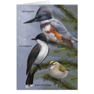 """""""Nosotros tarjeta del pájaro de tres reyes"""" día de"""