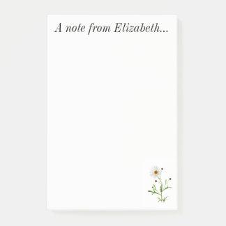 Nota de Elizabeth