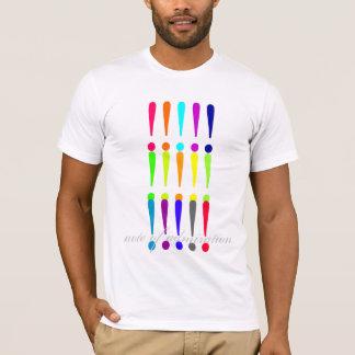 nota de la admiración camiseta