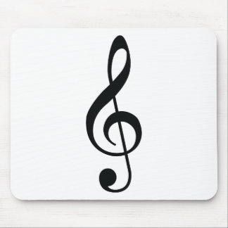 Nota de la música alfombrilla de ratón