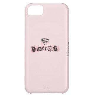 Nota de rescate del logotipo de Supergirl Funda Para iPhone 5C