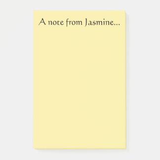 Nota del jazmín