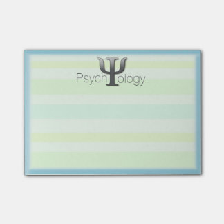 Nota del Poste-it® de la psicología
