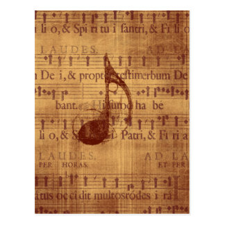 Nota musical postal