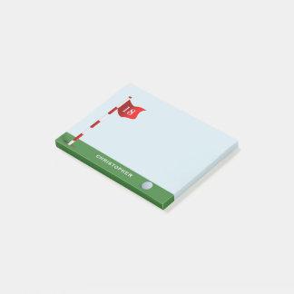 Nota personalizada putting green del Poste-it® del