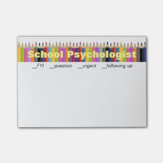 Notas de de la continuación del psicólogo