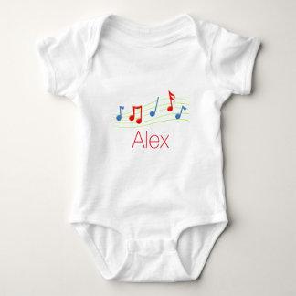 Notas de la música body para bebé