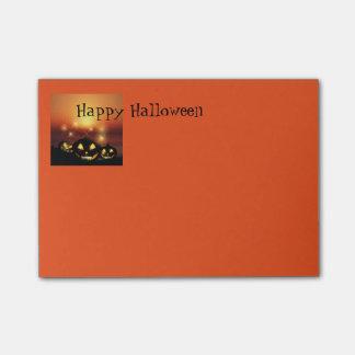 Notas de post-it de Halloween
