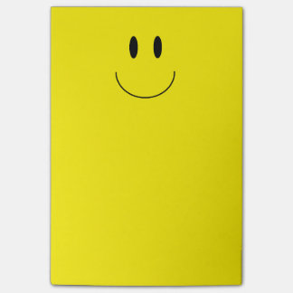 "Notas de post-it de la ""cara feliz"""