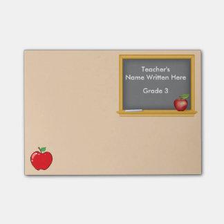 Notas de post-it personalizadas - pizarra y Apple