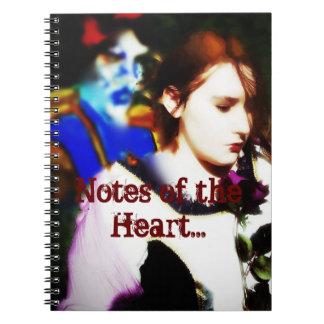 Notas del amor libretas