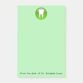 Notas del dentista