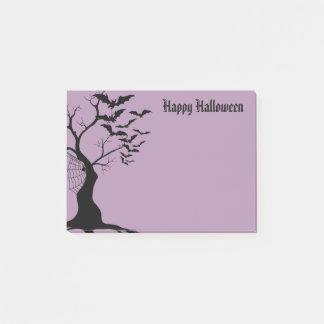 Notas del poste de Halloween