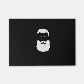 Notas del Poste-it® de la barba blanca