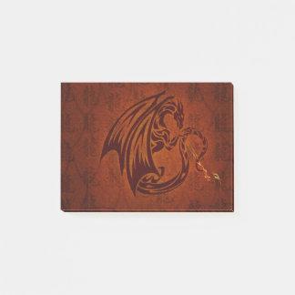 Notas del Poste-it® del dragón