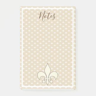 Notas francesas de la flor de lis