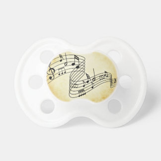 Notas musicales chupetes de bebé