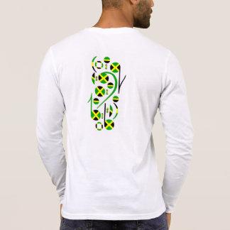 Notas musicales de la bandera de Jamaica Camisetas