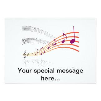Notas musicales comunicado