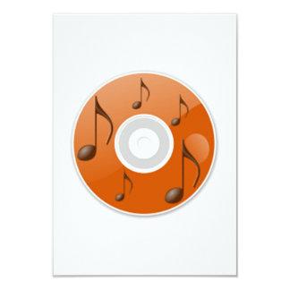 Notas musicales sobre el CD Invitación Personalizada