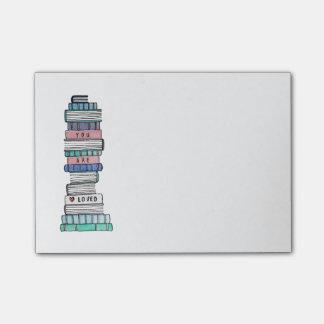 Notas pegajosas de amor de Bookstack
