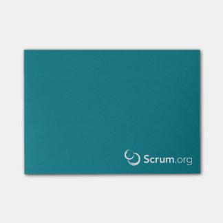 notas pegajosas de Scrum.org