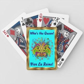 Notas Plse de la opinión del estilo 3 de la reina  Baraja Cartas De Poker
