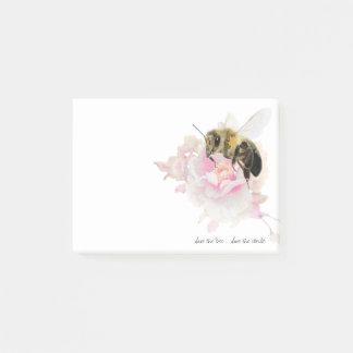 Notas Post-it® ¡Ahorre la abeja! ¡Ahorre el mundo! Abeja bonita