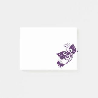 Notas Post-it® Alas de la mariposa