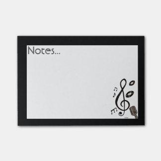 Notas Post-it® Amante de la música