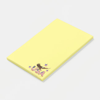 Notas Post-it® American Eagle