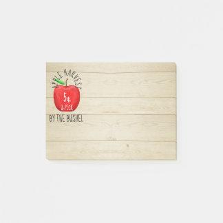 Notas Post-it® Apple cosecha la muestra del vintage