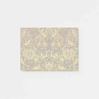 Notas Post-it® Arte floral de la tapicería de William Morris