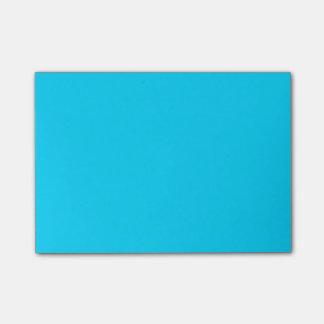 Notas Post-it® Azul de cielo simple