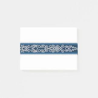 Notas Post-it® Azul del modelo de Viking