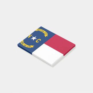 Notas Post-it® Bandera de Carolina del Norte