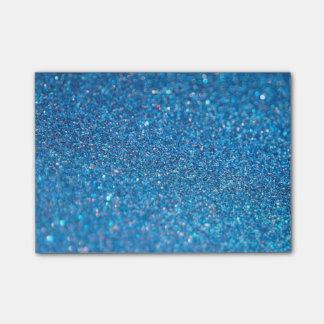 Notas Post-it® Brillo de lujo del diamante