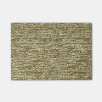 Notas Post-it® Brillo del oro
