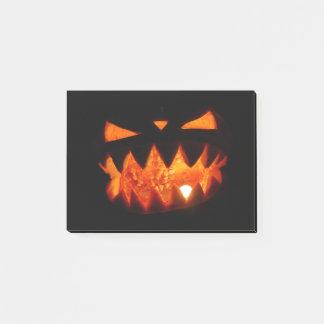 Notas Post-it® Calabaza de Halloween