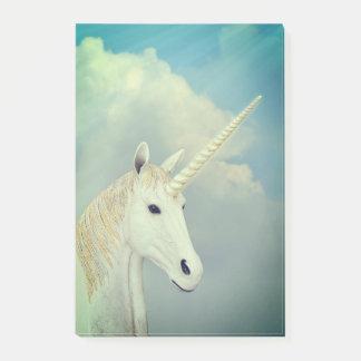Notas Post-it® Cara del unicornio