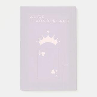 Notas Post-it® Cuentos de hadas minimalistas el | Alicia en el
