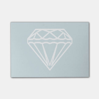 Notas Post-it® Diamante