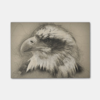 Notas Post-it® Eagle calvo glorioso Setch