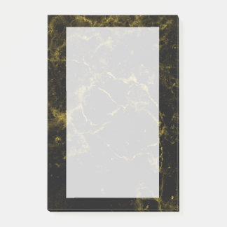 Notas Post-it® el negro elegante moderno elegante elegante y el