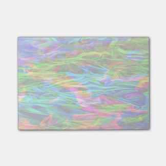 Notas Post-it® Extracto del arco iris que brilla intensamente
