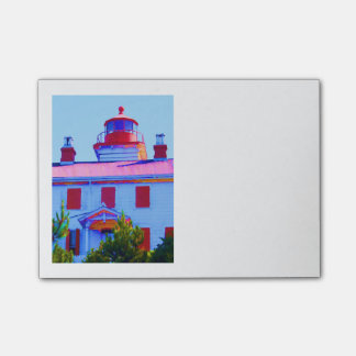 Notas Post-it® Faro de Newport