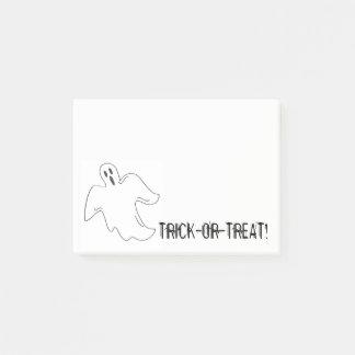 Notas Post-it® Favor de fiesta fantasmagórico de Halloween del