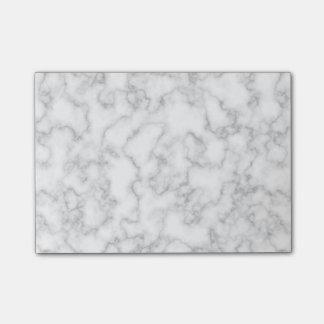 Notas Post-it® Fondo veteado del modelo de la piedra del mármol