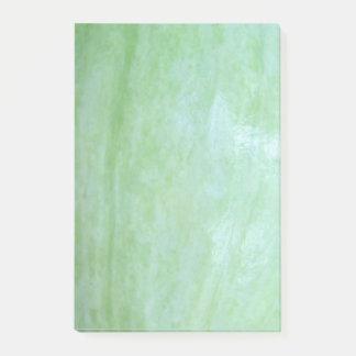 Notas Post-it® Foto de la calabaza del jardín del verde de la